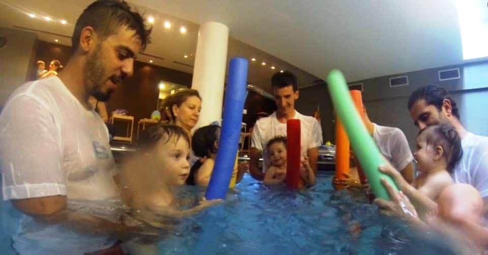 Πλεονεκτήματα baby swimming